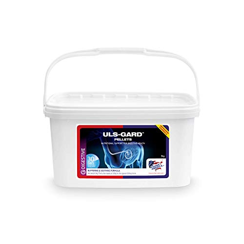 Equine America Uls-Gard Pellets   Premium redo att använda häst och ponny tillbehör   För att hjälpa till att upprätthålla matsmältningshälsa och komfort   3 kg