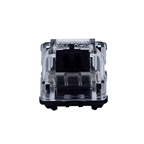 Gateron Optical switches 68PCS Optical Black Switches for Optical Keyboard(Black 70PCS)