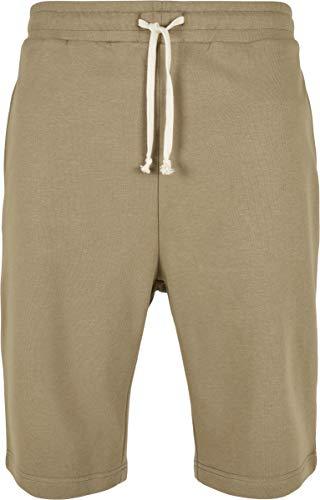Urban Classics Herren Low Crotch Sweatshorts Shorts, Khaki, 5XL
