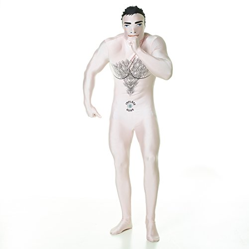 Morphsuits Men's Blow up Doll Male Fancy Dress Costume, Large