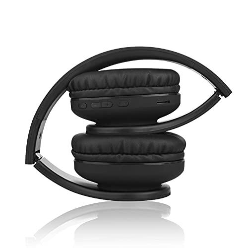 N-B Gaming-Headset, Bluetooth faltbares drahtloses tragbares Headset mit Geräuschreduzierung, geeignet für Outdoor/Laufen/Joggen/Lernen, Gaming/Lernen/Kinder/Kinder-Headset