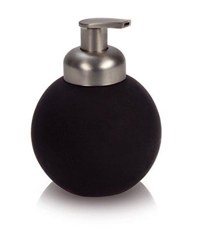 möve New Orbit Seifenspender 11 x 14 cm aus beschichteter Keramik, graphite