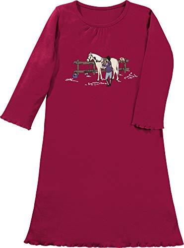 Erwin Müller Kinder-Nachthemd Single-Jersey fuchsia Größe 122 / 128