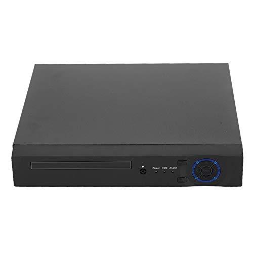Sugoyi Multifunktions-Digitalvideorecorder 1080P mit 4 Kanälen aus Metall, 12-V / 2-A-CCTV-DVR, Fernüberwachung für(European regulations)