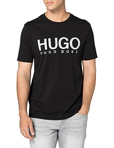 HUGO Herren Dolive213 T-Shirt, Black1, M