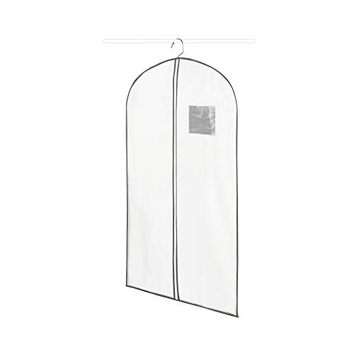 Compactor Life Housse pour vêtements, Blanc, taille S,60 x 0,2 x H100 cm, RAN630