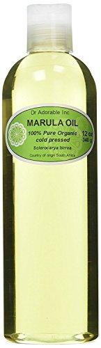 Aceite de Marula transportista por Dr. Adorable orgánico 100% puro prensado en frío 12oz