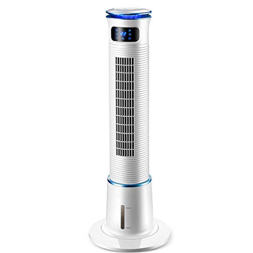 CX Bladeless Fan with Remote Control, Led Display Silent Low Energy Oscillating Fan Air Dehumidifiers Air Purifier Air Conditioner 3 in 1 Tower Fans Cooling for Home Office Cooler