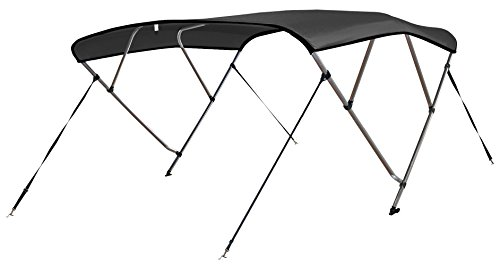 For Sale! Leader Accessories 4 Bow Bimini Tops Boat Cover 4 Straps for Front and Rear Includes Hardw...