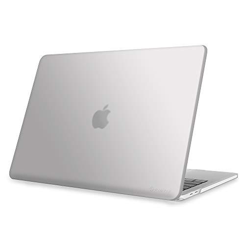FINTIE Custodia per MacBook PRO 13 2020 - Cover Rigid Protettivo Guscio Rigido per MacBook PRO 13 A2238/ A2251/ A2289 con Display Retina e Touch ID, Frost Clear