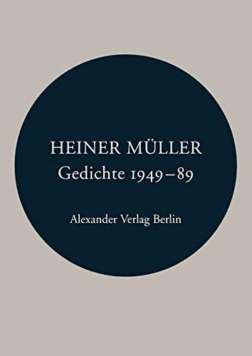 Gedichte 1949 - 1989 (Kreisbändchen)