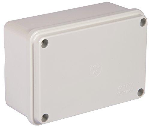 Electraline 60560 Cassetta di Derivazione da Parete, Misura 190x140 mm, IP56, Grigio