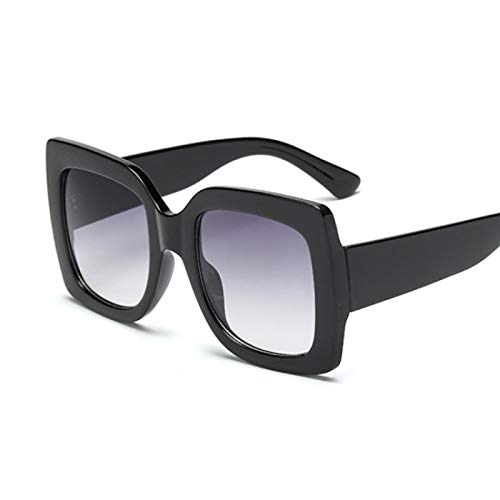 Gafas De Sol Gafas Accesorios Gafas De Sol Cuadradas De Gran Tamaño para Mujer, Diseñador De Marca, Lentes Transparentes, Gafas De Sol para Mujer, tre