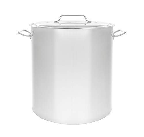 Concord Cookware Stainless Steel Stock Pot Kettle, 100-Quart