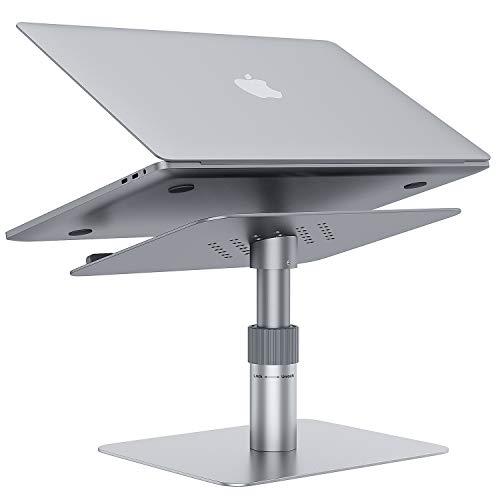 GMFIVE Laptop Ständer Halterung 360 °drehbarer Laptopständer Laptop Halter verstellbar Notebook Halter Loptop Stand kompatibel für Laptop11-17.3Zoll einschließlich MacBook Pro/Air usw