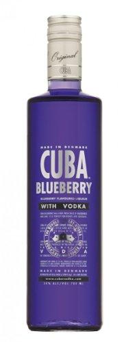 Cuba - Blueberry Vodka 30% - 0,7l