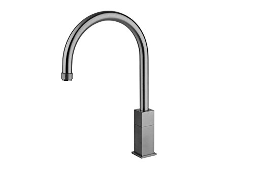 Gessi kitchen taps P Quadro kitchen tap with progressive flow-rate control 17203