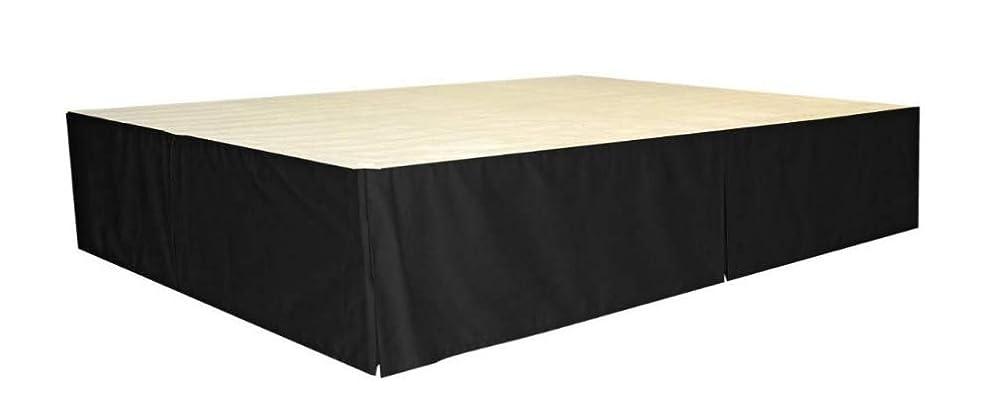 ゆるい否認する立ち向かうRoom Essentials ブラック ベッドスカート 各種サイズ フル