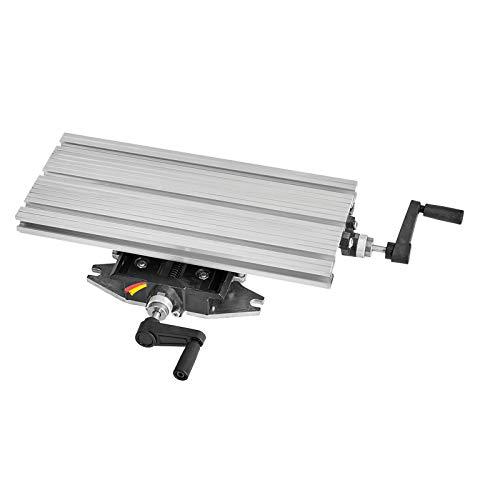 WABECO 2-Achsen Koordinatentisch K400 400 x 180 mm Kreuztisch Bohrtisch für Bohrständer