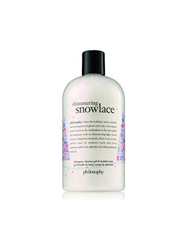 Philosophy Shimmering Snow Lace Shower Gel, 16 Ounce