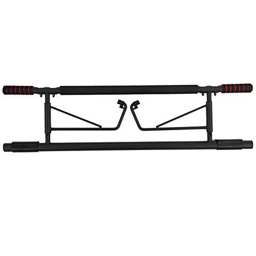 Beneficiosamente Pull-Up-Bar - Prima Puerta Chin-Up Bar - sin tornillos - Perfecto for la aptitud cubierta y un gimnasio en casa - con recta Grip Diseño plegable for el hogar ejercicio de la gimnasia