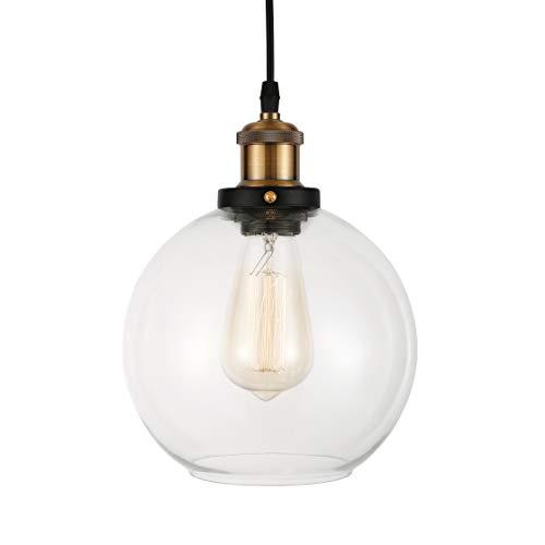 BAYCHEER E27 Vintage Cristal Iluminación de Carcasa araña lámpara colgante