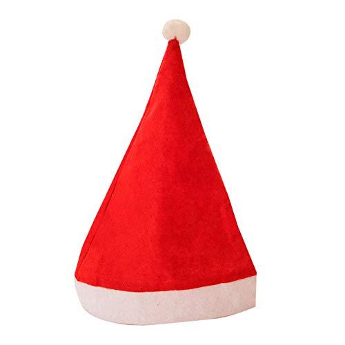 Kerstmis Gestippelde Decoratieve Hoed Volwassen Kerst Decoratie Hoed Kerst Doek Kerst Hoed 10 sets