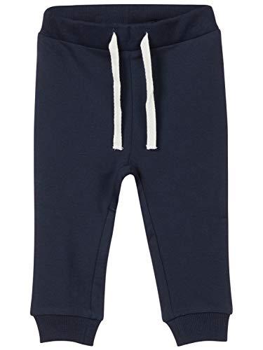 Name It Nbndelugo SWE Pant Unb Noos Pantalon, Bleu (Dark Sapphire), 62 Mixte bébé