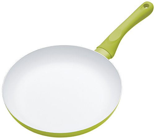Colourworks Non-Stick Ceramic Frying Pan, 24 cm - Green