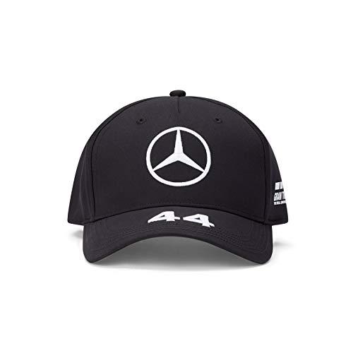 Mercedes Benz AMG Petronas F1 2021 Lewis Hamilton Baseball Hat Black/White (Black)
