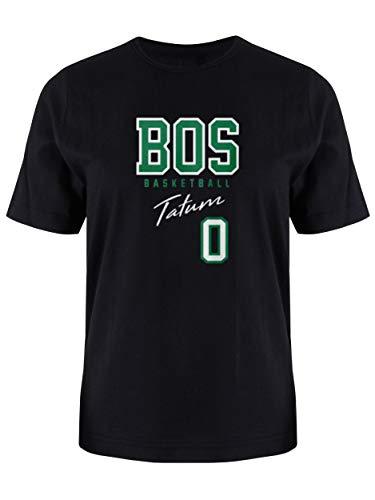 T-Shirt to Match Tatum USA Basketball Men's T-Shirt, Baseball Fan Shirts, Tatum Jersey Shirt, Celtics Shirt for Men (Black, XL)