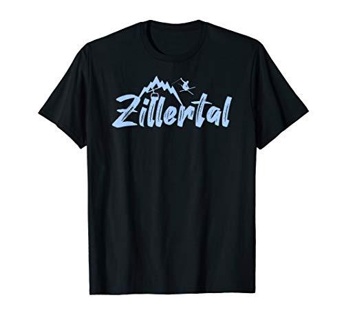 Zillertal Skifahrer T-Shirt