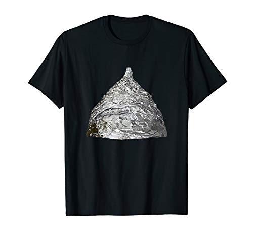 Aluhut Kostüm Verschwörungstheorie Tshirt Verschwörung Shirt
