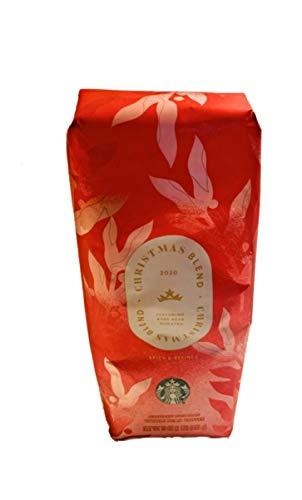 2018 Starbucks Christmas Blend Whole Bean Coffee - 16 Ounce