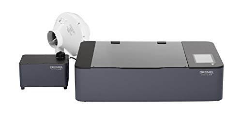 "Dremel LC40-01 High Speed Laser Cutter, Engraver, and Etcher- Desktop Laser Engraving Tool- UL-Certified Laser Cutter- 12"" x 20"" 40W CO2"