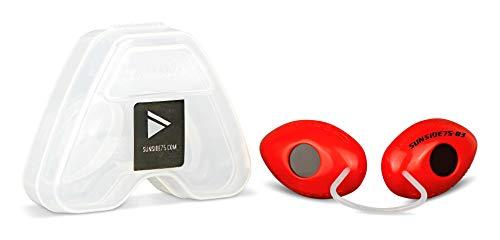Sunside75-03 Red/UV-Schutzbrille/Solariumbrille
