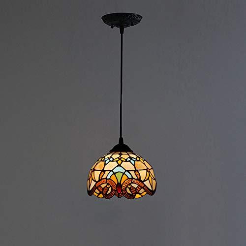 Tiffany hanglamp, lampenkap, lampenkap, barokspin, A