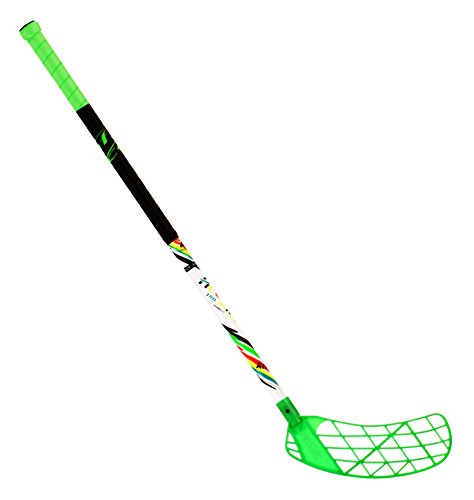 ACCUFLI Floorball Stick AirTek A70 Junior Right Length 32inch Green