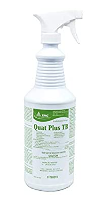 Quat Plus TB DISINFECTION With Sprayer, DEODORIZING AND CLEANING AIRCRAFT CABIN CLEANER for VIRUSES