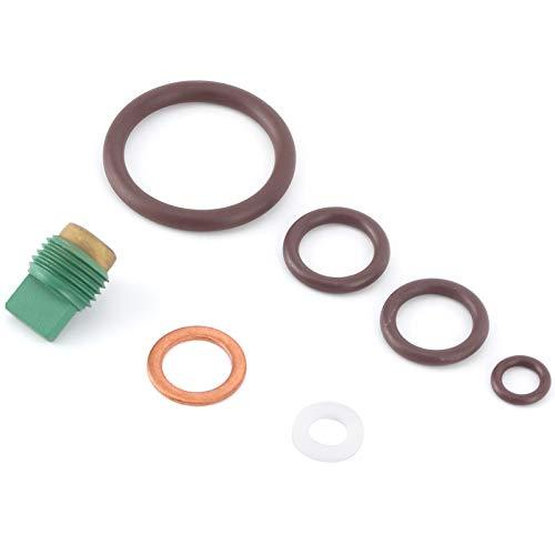 Gaeirt Juego de reparación de válvulas de Control, Kit de reparación de válvulas de Buceo Accesorios de válvulas de Buceo Piezas de Repuesto de reparación de válvulas de Buceo de Goma para