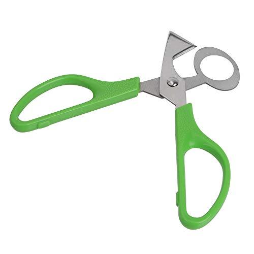 NOPNOG Wachteleier-Schere Küchenschere Eierschneider Werkzeuge grün