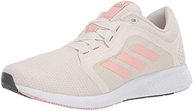 adidas womens Edge Lux 4 Running Shoe, Chalk White/Copper/White, 9 US