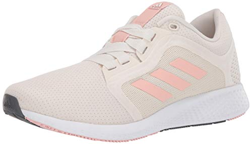 adidas womens Edge Lux 4 Running Shoe, Chalk White/Copper/White, 6.5 US