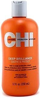 CHI Deep Brilliance Soothe & Protect Hair Cream, 12 oz.