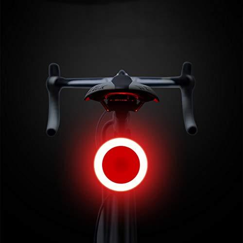 Maso Vélo Tail Light batterie arrière lumière de vélo 70 Ultra Lumineux Lumen LED étanche à 5 modes Cyclisme arrière s'installe sur n'importe quel vélos de route, VTT, casque de cycliste
