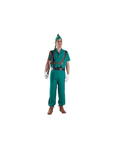 DISBACANAL Disfraz de Legionario español - -, XL