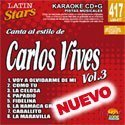 Karaoke Latin Stars 3 by Carlos Vives
