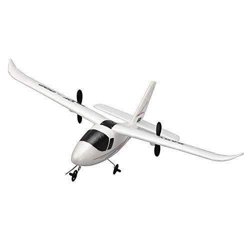 YNSHOU Accesorios de Juguete DIY RC Avión de Juguete Control Remoto Planeador QF-002 Avión RC DIY EPP Craft Foam Eléctrico al Aire Libre Avión de ala Fija