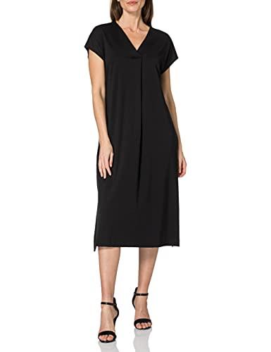 ESPRIT Collection Damen 041EO1E305 Kleid, 001/BLACK, M