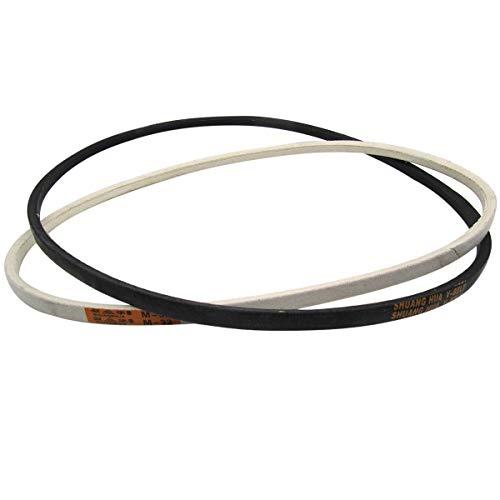 CKPSMS Marca – Motor de embrague de máquina de coser industrial blanco o negro # V-Belt (2 piezas) (29 pulgadas)
